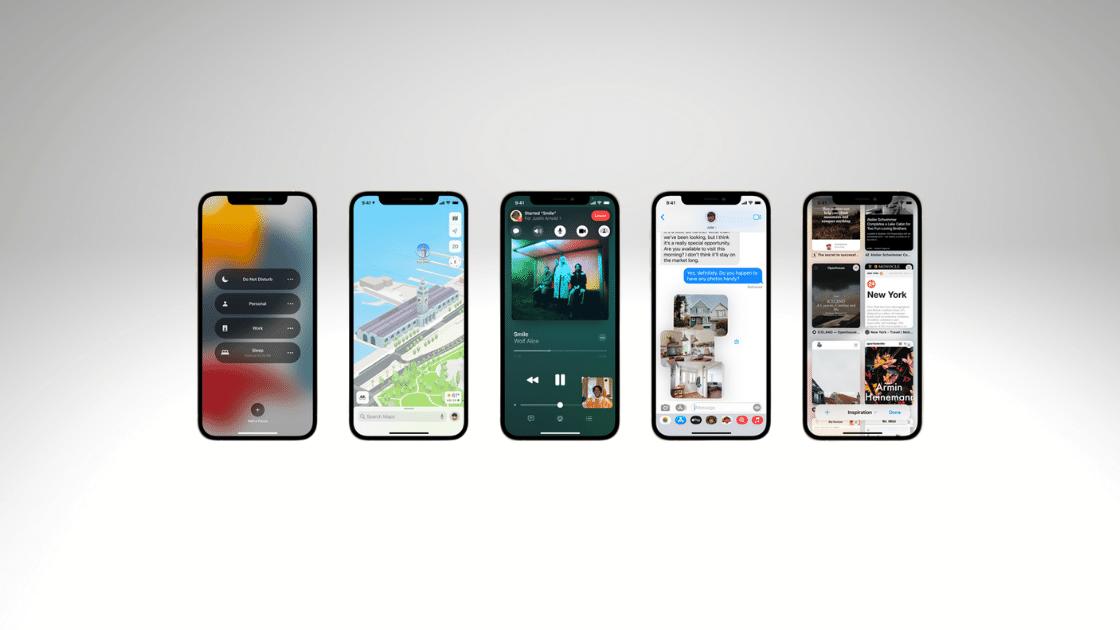 Fitur iOS 15