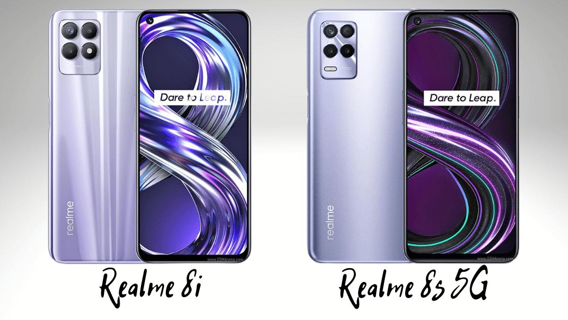 Realme 8i dan 8s 5G