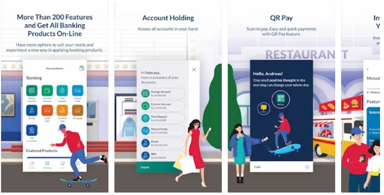 Aplikasi PermataMobile X permata bank