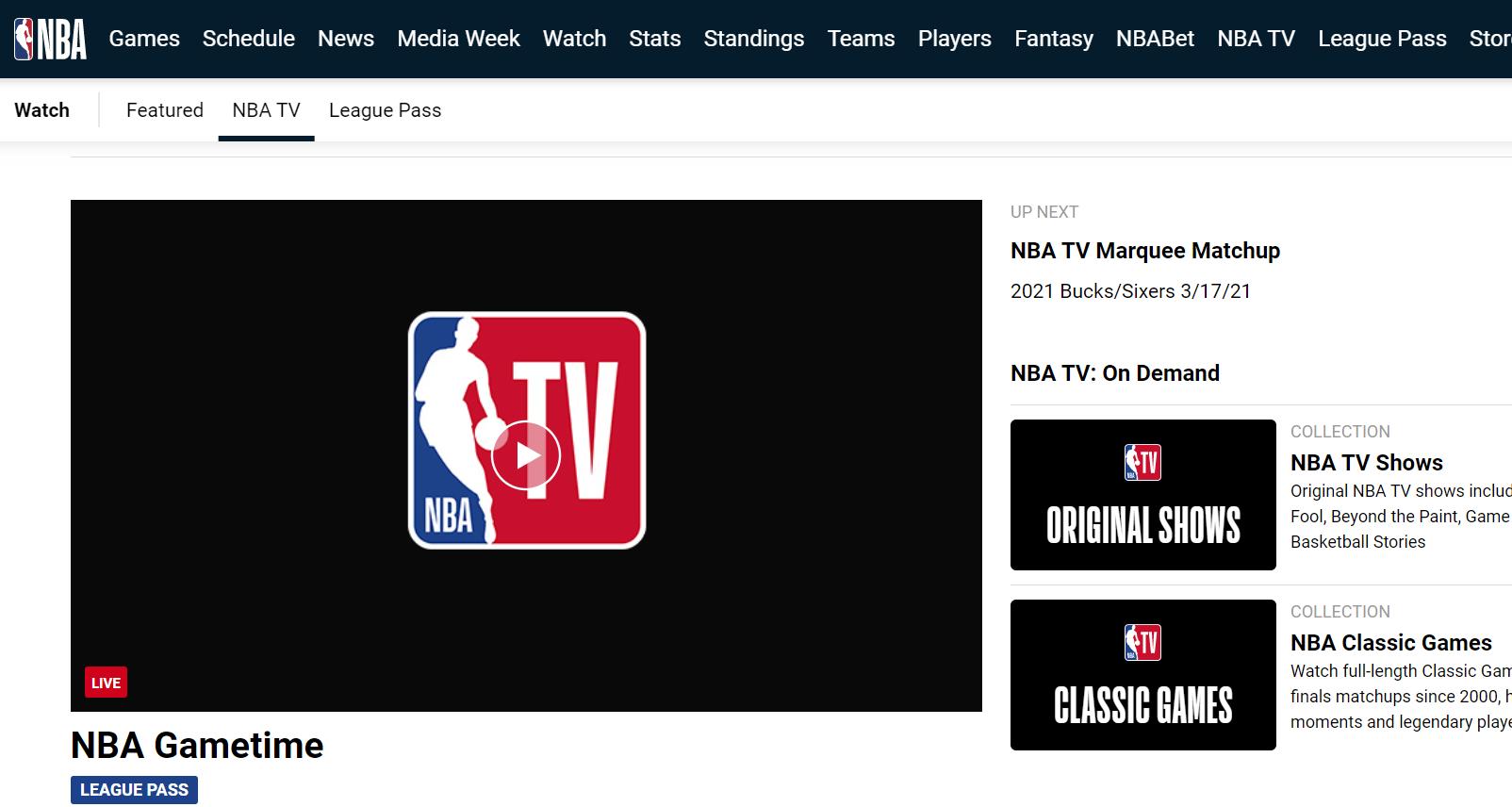 Streaming NBA Berbayar Melalui Watch NBA