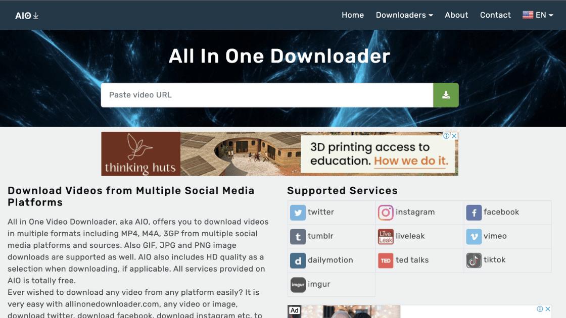 Allinonedownloader Dailymotion Downloader Video