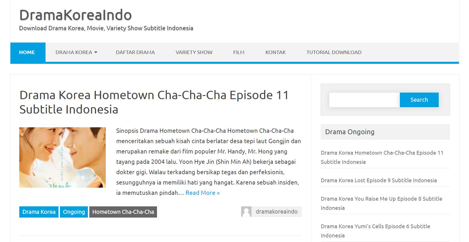 Situs Drama Korea Terbaru DramaKoreaIndo